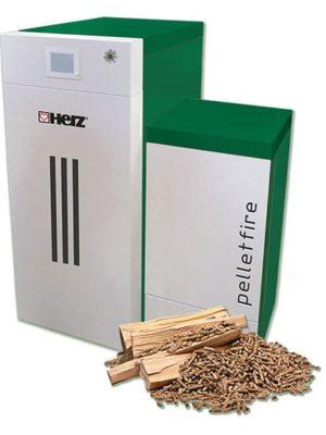 Herz peleti kombinirani pelletfire 20 40 T Control