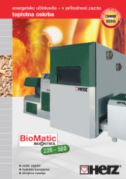 BioMatic 300-500 za velike objekte (hoteli, šole, bolnišnice in podobni javni objekti) Moč ogrevanja od 79 do 450 kW Sekanci in peleti
