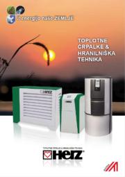 Toplotne črpalke voda/voda – WW in zemlja/voda – SW Toplotne črpalke zrak/voda LW-A Toplotne črpalke za pripravo sanitarne tople vode BWP