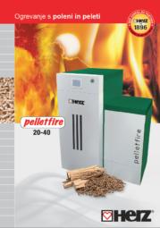 Kombinirani kotel pelletfire 20-40 T-Control Moč ogrevanja od 6 do 40 kW Kombinacija polena in peleti