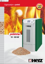 Peletni kotel pelletstar 10-60 T-Control Moč ogrevanja od 3,5 do 60 kW Krmiljenje z zaslonom na dotik T-CONTROL