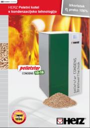Peletni kondenzacijski kotel pelletstar CONDENSATION 10 – 60 kW Moč ogrevanja od 10 do 60 kW Krmiljenje z zaslonom na dotik T-CONTROL